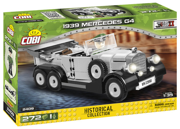 Cobi 2409 | 1939 Mercedes G4 | Historical Collection