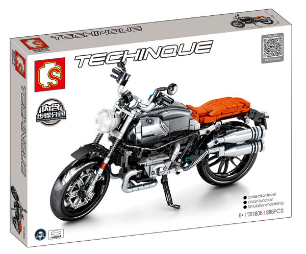 Sembo 701806 Technique Motorrad orange