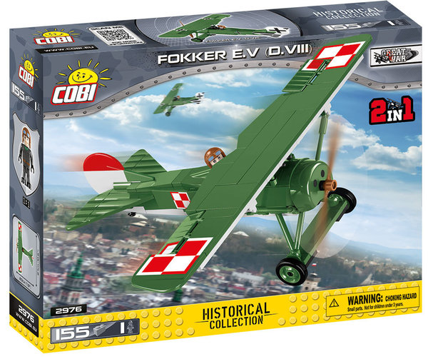 Cobi 2976 | Fokker E.V (D.VIII) | Historical Collection