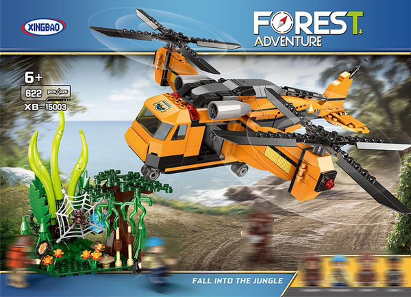 Xingbao XB-15003 | Forest Adventure | Fall Into The Jungle  (ohne Figuren)