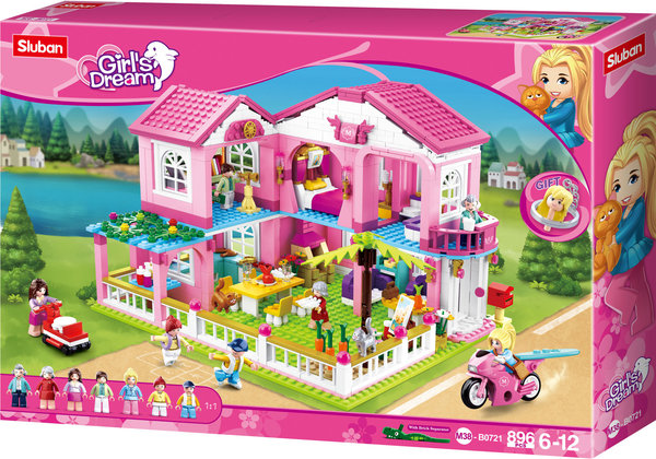 Sluban M38-B0721 | Girls Dream | Luxusvilla | Spielhaus