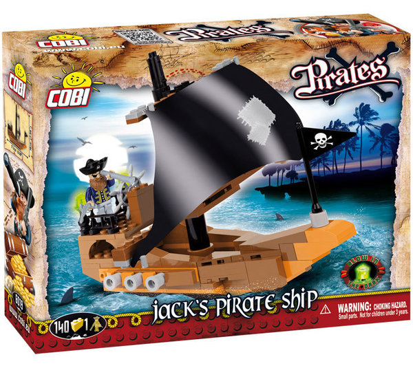 Cobi 6019 | Pirates | Jack's Pirate Ship