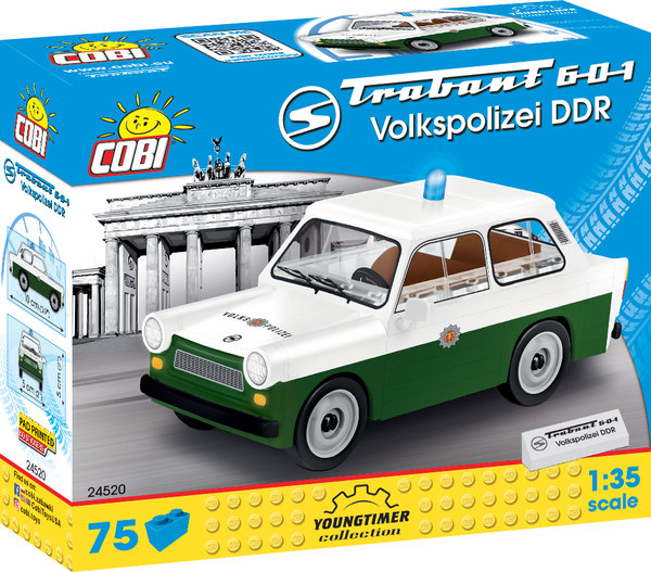 Cobi 24520 | Trabant 601 Volkspolizei DDR | Youngtimer Collection