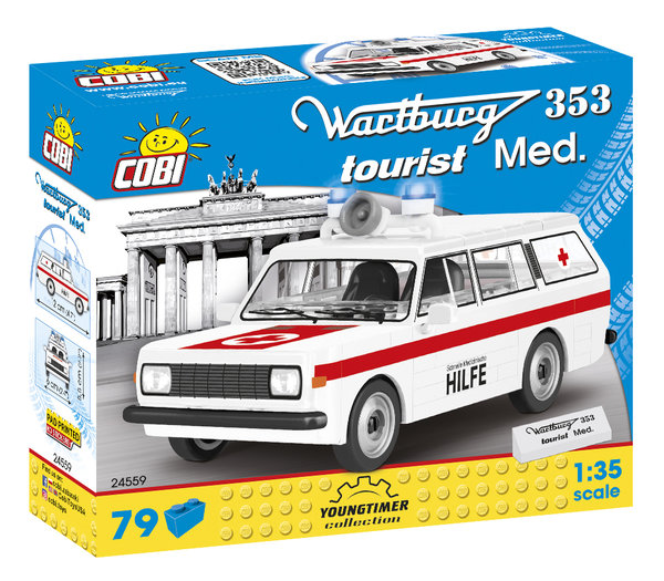 Cobi 24559 | Wartburg 353 Tourist Krankenwagen | Youngtimer Collection
