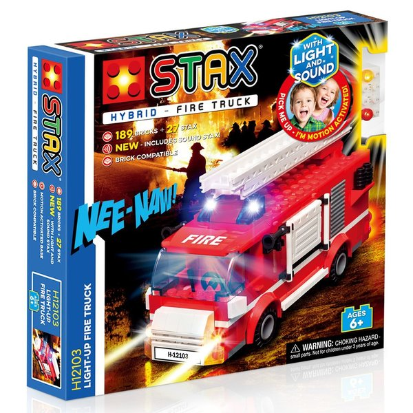 Stax Hybrid H12103 | Light up Fire Truck