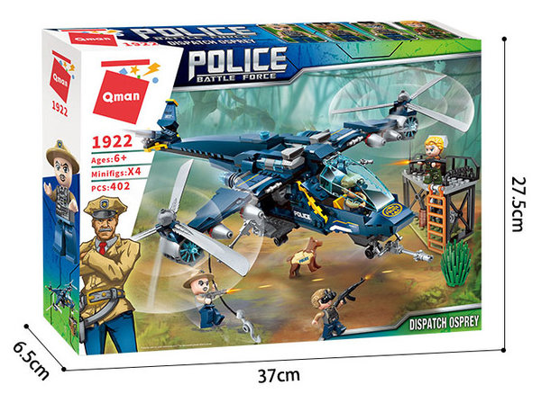 Qman 1922 | Police Battle Force | Osprey Polizeihubschrauber