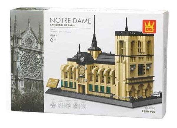 Wange 5210 | The Notre-Dame Cathedral of Paris