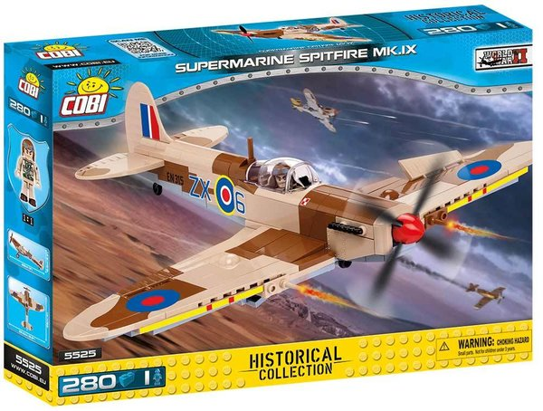 Cobi 5525 | Supermarine Spitfire Mk. IX | Historical Collection