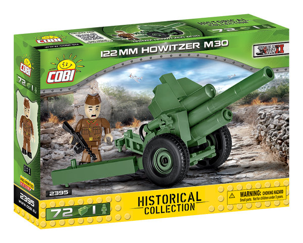 Cobi 2395 | 122mm Howitzer M30  | Historical Collection