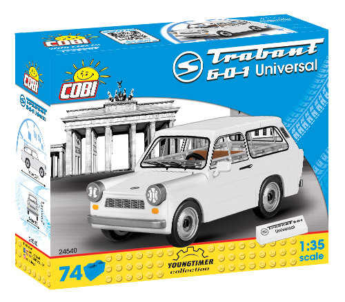 Cobi 24540 | Trabant 601 Universal | Youngtimer Collection