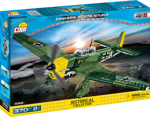Cobi 5705 | Junkers JU 87B Stuka | Historical Collection