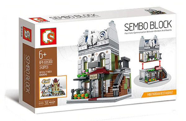 Sembo SD6300 | Mini Modular Pariser Restaurant
