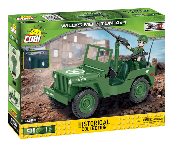 Cobi 2399 | Willys MB 1/4 Ton 4x4  | Historical Collection