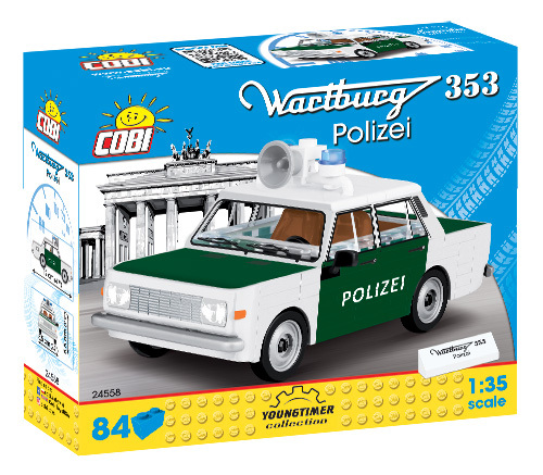 Cobi 24558 | Wartburg 353 Polizei | Youngtimer Collection