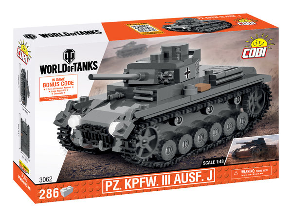 Cobi 3062 | Pz.Kpfw. III Ausf. J 1:48 | World of Tanks