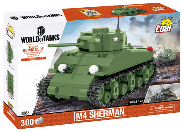 Cobi 3063 | M4 Sherman 1:48 | World of Tanks