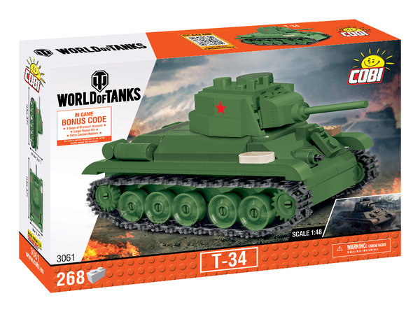 Cobi 3061 | T-34 1:48 | World of Tanks