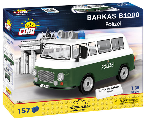 Cobi 24596 | Barkas B1000 Polizei | Youngtimer Collection
