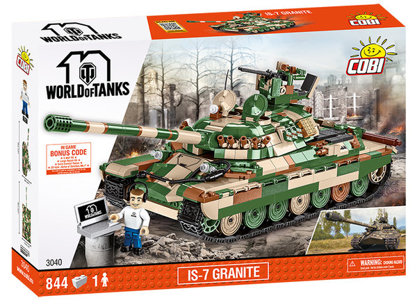 Cobi 3040 | IS-7 Granite | World of Tanks