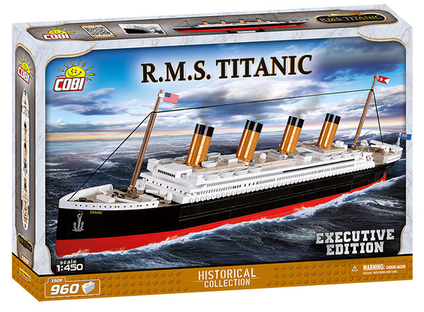 Cobi 1928 | R.M.S. Titanic Executive Edition | Historical Collection
