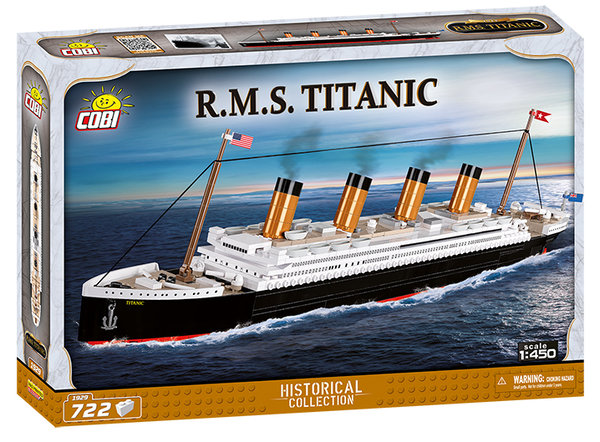 Cobi 1929 | R.M.S. Titanic | Historical Collection