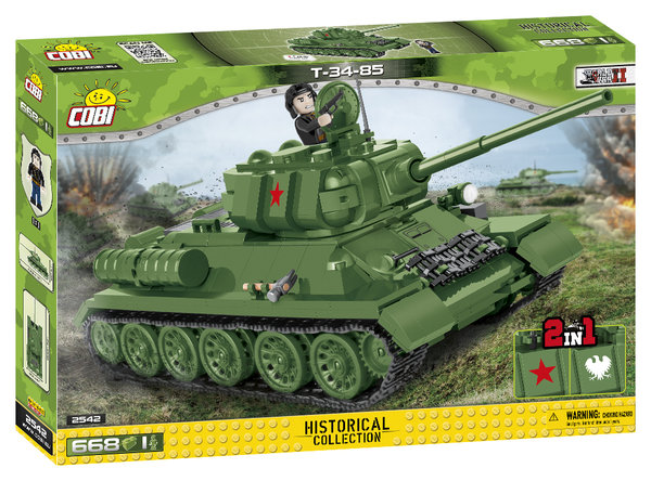 Cobi 2542 | T-34-85 | Historical Collection