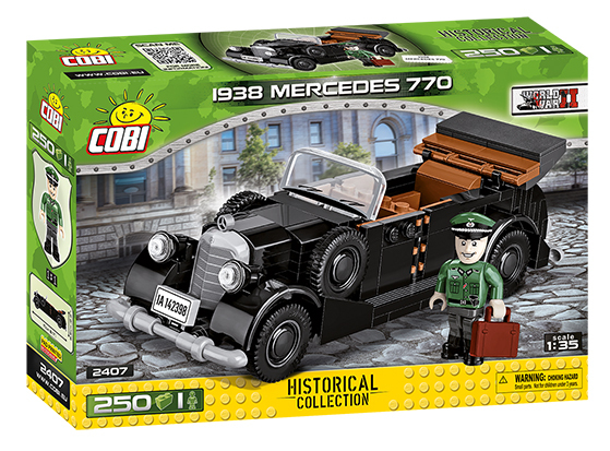Cobi 2407 | 1938 Mercedes 770 | Historical Collection