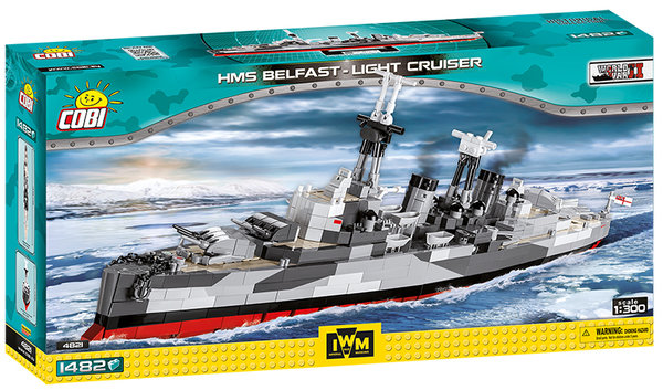 Cobi 4821 | HMS Belfast | Historical Collection