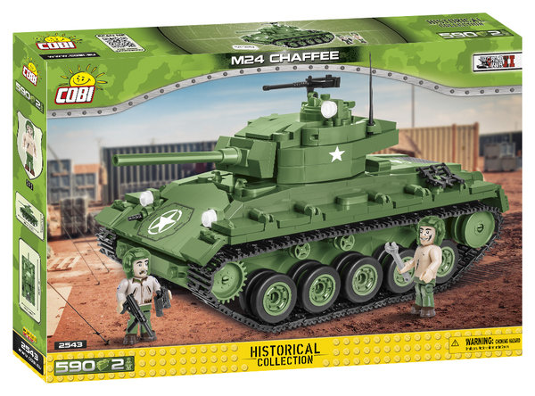 Cobi 2543 | M24 Chaffee | Historical Collection