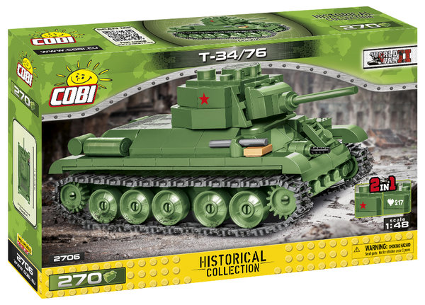 Cobi 2706 | T-34/76 1:48 | Historical Collection