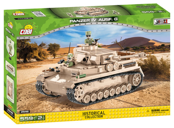 Cobi 2546 | Panzer IV Ausf. G | Historical Collection