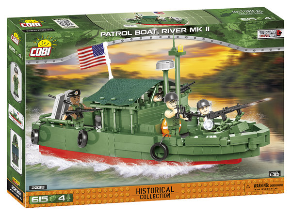 Cobi 2238 | Patrol Boat River MK II | Historical Collection